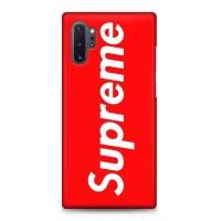 Hard Case Casing Supreme Red ST Samsung Galaxy Note 10+ (Plus)