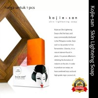 Kojie san Skin Lightening Soap 65 gram Sabun Kojic Acid Soap