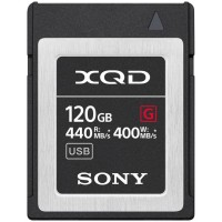 Sony XQD Memory Card G Series (440MB/s) 120GB - QD-G120F