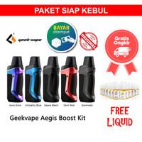 Paket Siap Kebul Aegis PSK Boost Boos 40 W KIT Pod Pods System MOD Aut