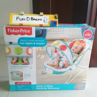 Fisher Price Kick And Play Musical Bouncer