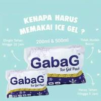 Gabag Ice Gel Pack Pendingin ASI / Cooler Gel 500gr 200gr