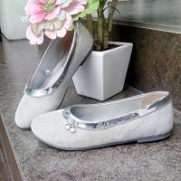 sepatu flat anak perempuan slip on merk kipper tipe Kiara Ukuran31 -35