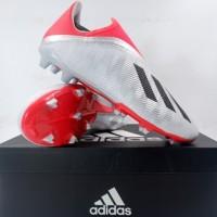 Sepatu Bola Adidas X 19.3 LL FG Silver EF0597 Original BNIB