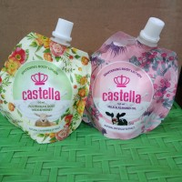 CASTELA Hand&Body Lotion Susu Untuk Memutihkan Kulit