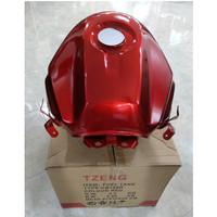 Tangki Bensin CB 150 R old warna Merah merek TZENG