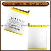 Baterai Meizu M6 5.2 Inch BA711 BA 711 Original Batre Batrai HP