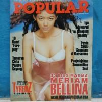 Majalah popular cover tyrenz dan swimsuit plus poster edisi juni 1999