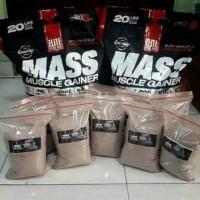 Elite Labs Muscle Mass Gainer Ecer Eceran Repack 2 lbs lb 2lbs 2lb