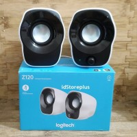 LOGITECH Z120 Mini Stereo Speaker Portable Laptop PC USB Garansi RESMI