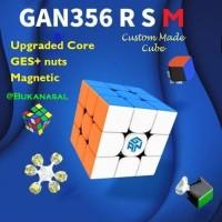 Rubik Gan 356 R S M Magnetic 3x3x3 Stickerless Gan356 RS RSM 356RS 3x3