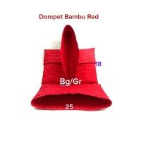 Dompet Bambu Warna Red / PInk