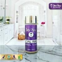 Skincare Facial Wash Normal to Dry ORIGINAL BPOM Halal by DevAyu