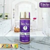 Skincare Facial Wash Normal to Oily ORIGINAL BPOM Halal by DevAyu
