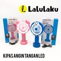 Kipas Angin Tangan LED Hello Kitty Doraemon SX109 Cute USB Mini Fan Po