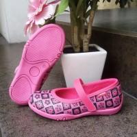 sepatu anak perempuan flat shoes slip on kretekan KIPPER Tipe Kirana