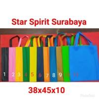 Tas Spunbond / kain / goodie bag tali / souvenir 38 x 45 x 10
