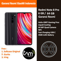 Xiaomi Redmi Note 8 Pro - 6 GB / 64 GB - Garansi Resmi