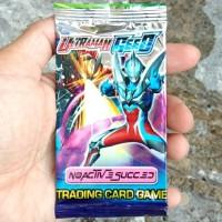 KARTU KOLEKSI ULTRAMAN 9 PC HERO SENTAI CARD COVER GEED SUCCED