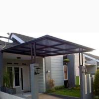 kanopi murah minimalis atap polikarbonet
