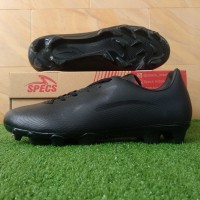 Specs Hypeno FG (Sepatu Bola) - Triple Black