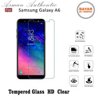 Asman Premium Tempered Glass Anti Gores for Samsung A6 2018 - Clear