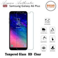 Asman Premium Tempered Glass Anti Gores for Samsung A6 Plus - Clear
