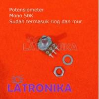 Potensiometer 50K Mono Potensio 50 K Potentiometer Variable Resistor