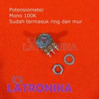 Potensiometer 100K Mono Potensio 100 K Potentiometer Variable Resistor