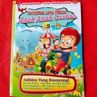 VCD Video Ori Lagu Anak Bisa Karoke - EDUKASI Anak Cerdas Vol.2