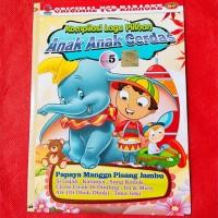 VCD Video Ori Lagu Anak Bisa Karoke - EDUKASI Anak-Anak Vol.5 TERLRIS