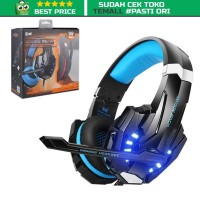 Gaming Headset Keren Super Bass with LED Light Kotion G2000 ORIGINAL