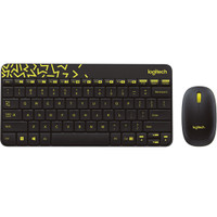 Logitech MK240 Wireless Combo Mouse & Keyboard - Hitam