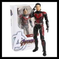 TERMURAH SHF ANT MAN AND THE WASP ACTION FIGURE / SHF ANTMAN KODE066