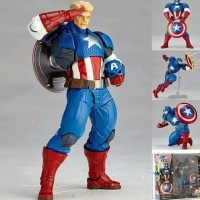 Revoltech Captain America Comic Classic Version Action Figure