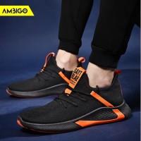 Sepatu Sneakers Olahraga Pria Ambigo X-Line TC115 Running Shoes