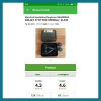 Ready Headset Earphone Handsfree Samsung Galaxy S7 S6 S 7 S 6 Edge