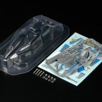 mainan Tamiya Vanquish Clear Body Set # 15448