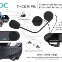 BT Bluetooth Motorcycle Helmet Intercom T-COM VB With F MT6