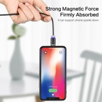 FLOVEME LED Magnetic Cable For Lighting Micro USB Type C Phone Cable