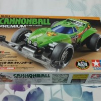 mainan Tamiya mini 4WD Dash 4 Cannonball Premium # 95225
