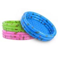 Kolam Anak 3-Ring Pool Bulat Ukuran 80x35cm INTIME Bak Mandi Bola Bayi