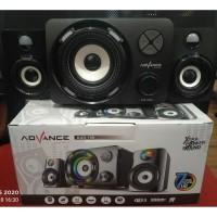 Speaker Aktif Advance DUO-700 Speaker Gaming RGB Colors Pulsating LED