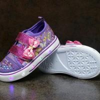 Sepatu lampu anak slip on merk Kipper tipe Tokyo ukuran 22 - 26 sepatu