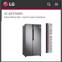 KULKAS LG GC-B247KQDV SIDE BY SIDE INVERTER LINEAR