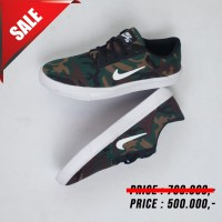 Sepatu Casual Pria nike SB Portmore Camouflage