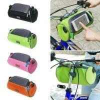 Tas Sepeda Tabung stang Waterproof