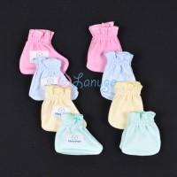HAYAYO 1 Set Sarung Tangan & Kaos Kaki Karet Bayi/Baby Warna (0-3M)
