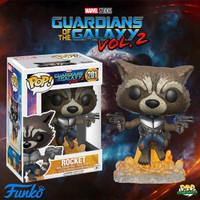 Funko POP! Guardian of The Galaxy - Rocket Racoon (Jet pack)