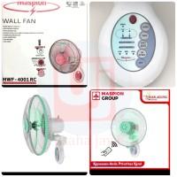 wall maspion remot 16 in 4001 rc kipas dinding remot